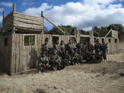 Bigfoot Paintball Despedidas de Soltero