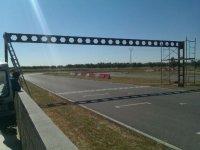 circuito para las carreras de karting