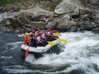 desceniendo el rio