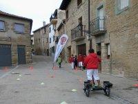 A bordo de las bicis por las calles de Pamplona