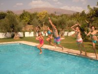 Dia de piscina en Melegis