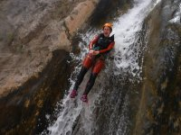 slide in canyoning