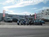 Flota de vehiculos en alquiler en Ibiza