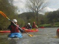 放松航行独木舟划桨