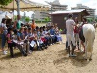 Equitación para niños en Laredo
