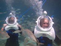 Submarinismo con escafandra