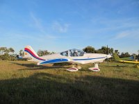 Aircraft in the Extremadura's airdrome