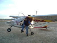 Seating in the ultralight aircraft