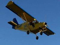 Flying over Extremadura