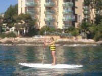 桨冲浪巨头独自在表SUP
