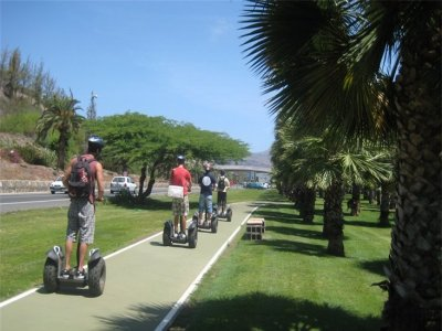 Gran Canaria on Segway