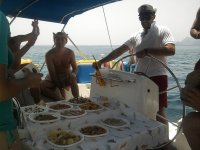 Nourriture à bord