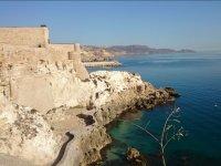 Château sur la côte de Murcie