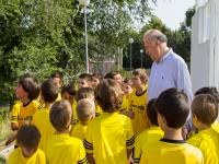 Del Bosque与年轻球员