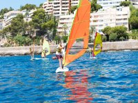 Orange sailing course