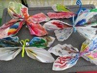 Artigianato con carta e vernice