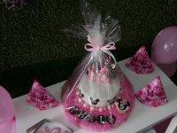 Tarta con decoracion de Minnie