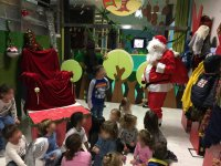 Visita di Babbo Natale a Natale