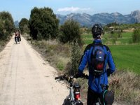 cycling route through nature