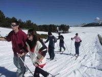 Esqui en grupo