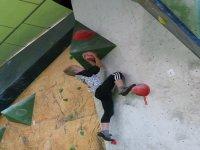 Bloque en The Climb