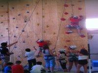 Escalando Vías en The Climb