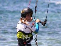 Practice kitesurfind