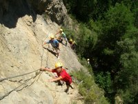 Ferrata routes, mono bridges, climbing ...