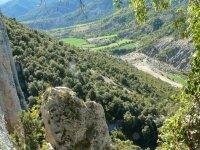 通过Ordesa和Añisclo的比利牛斯山谷