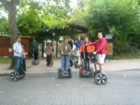 Guided routes with this ecological vehicle