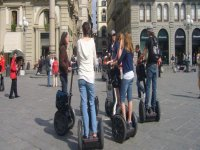 Group segway route
