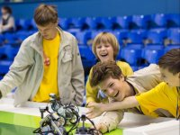 Sesiones de robotica infantil