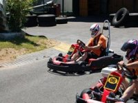 Farewell running in karts