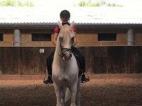 Equestrian class for children in Mallorca