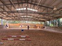 Advanced equestrian class in Mallorca