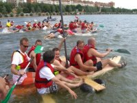 Bachelor party in the guadalquivir