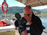 从Urdaibai的船上观鸟