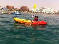 Aprendiendo a navegar solo en Roquetas