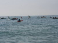Excursion de canoa y sup en Roquetas