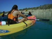 Sesion de kayak en Valencia
