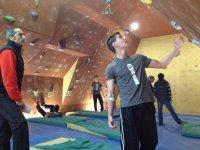 Competicion de escalada