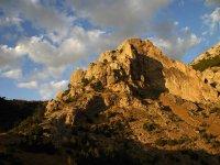 Macizo en la Sierra de Cazorla