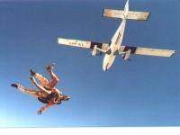 Disfruta del paracaidismo