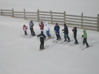 Practicar esquí en León