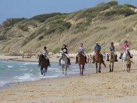 Cabalgar en la playa de Tarifa