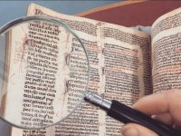 Searching in the manuscript