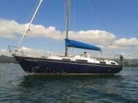 Barco en la costa de Ares