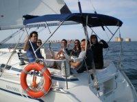 Amigos en el mar