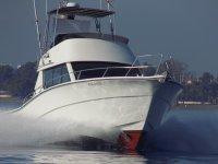 Rodman 1250 proa navegando en Banus