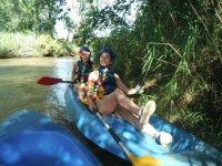 En la ribera del rio